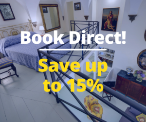 Book Direct and Save up to 15%